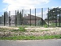 High fencing - Thorford Park - geograph.org.uk - 1818673.jpg