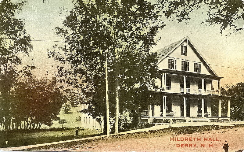 Hildreth Hall Derry, N.H. 1914.jpg