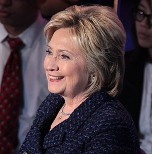 Democratic Party presidential debates and forums, 2016 - Image: Hillary Clinton (23705681544) (cropped 2)