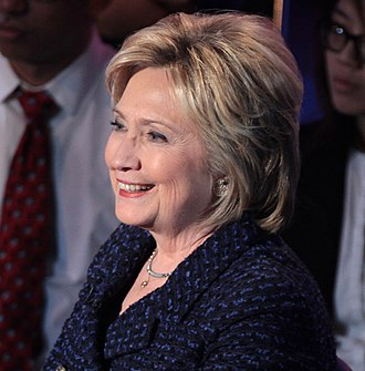 2016 Democratic Party presidential debates and forums - Image: Hillary Clinton (23705681544) (cropped 2)