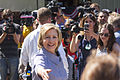 Hillary Clinton arrived at the State Fair in August 2015.jpg