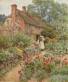 Hillside cottage - Helen Allingham.jpg
