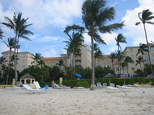 British Colonial Hilton Nassau - View from the hotel's private beach