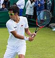 Hiroki Moriya 6, 2015 Wimbledon Qualifying - Diliff.jpg