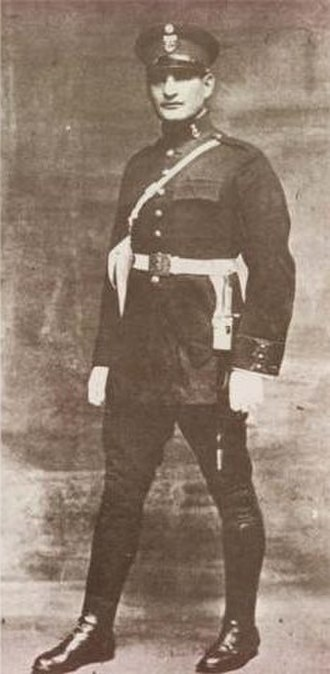 National Police of Peru - Police officer in 1923