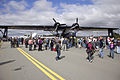 Historical Aircraft Restoration Society Consolidated PBY-6A Catalina (VH-PBZ) and Douglas C-47 Dakota (VH-EAF) at the Canberra Airport open day.jpg