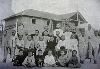 La Salle Secondary School, Kota Kinabalu - Father Van Der Heyden