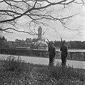 Hoge Veluwe conferentie betreffende Indonesië op jachtslot St. Hubertus. Soldate, Bestanddeelnr 901-6418.jpg