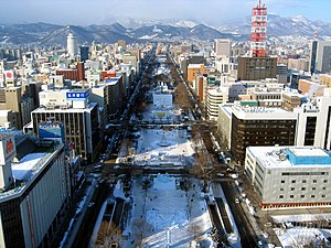 2017 Asian Winter Games - Sapporo's Odori Park will host the torch lighting ceremony