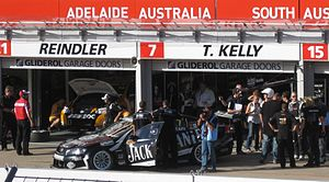 Jack Daniel's - Kelly Racing Holden Commodore VE of Todd Kelly at the 2010 Clipsal 500 Adelaide