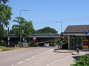 Hollandsche Rading railway station - Image: Hollandsche Rading 17juni 2006 004