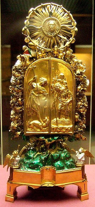 Holy Thorn Reliquary - Rear view
