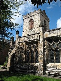 Holy Trinity Church, Goodramgate, York Grade I listed church in York, England