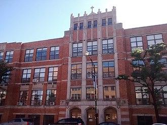 Holy Trinity High School (Chicago) - Image: Holy Trinity High School 1