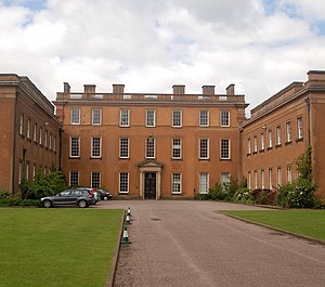 Himley Hall - The main entrance to Himley Hall