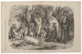 Homo sapiens - Kickapoo-indiaan, Noord-Amerika - 1865 - Print - Iconographia Zoologica - Special Collections University of Amsterdam - UBA01 IZ19500163.tif