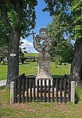 pilíř se sousoším Nejsvětější Trojice