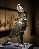 Horus as falcon god with Egyptian crown from the 27th dynasty (05).jpg