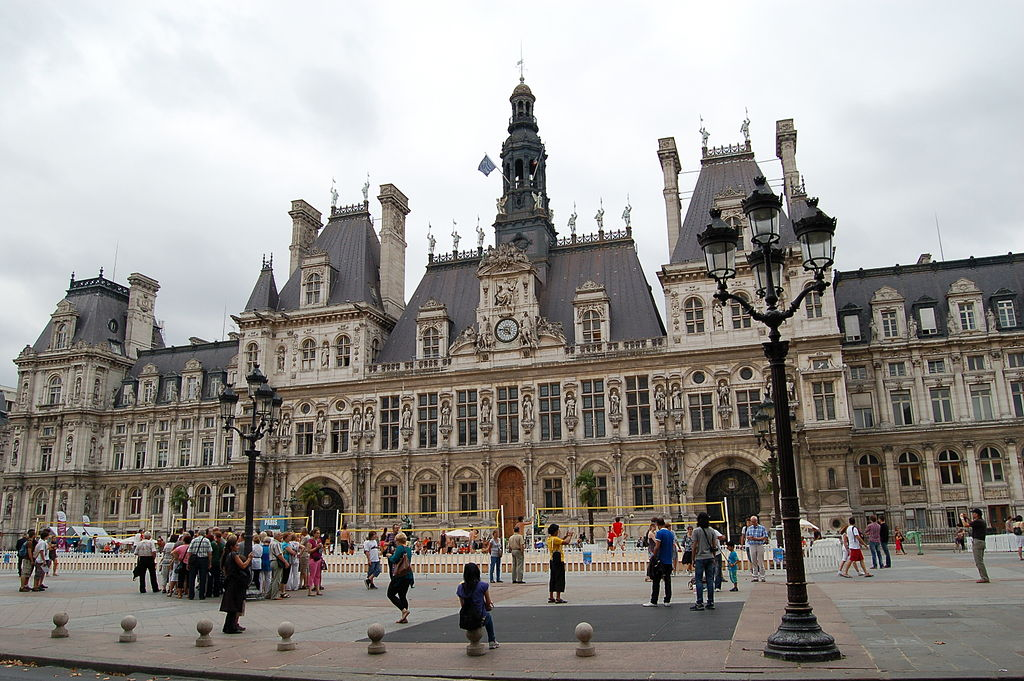 File Hotel De Ville Paris Wikimedia Commons