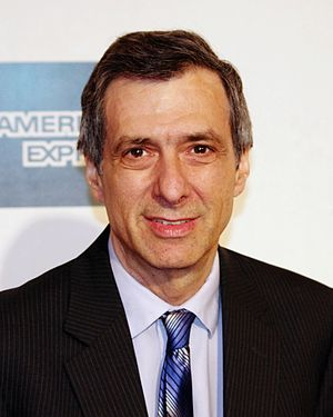 Howard Kurtz - Kurtz at the 2012 Tribeca Film Festival premiere of Knife Fight