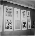 Howard University, student art exhibit-paintings - NARA - 559219.tif