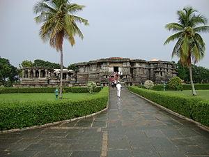 Hoysaleswara Temple - Hoysaleswara temple at Halebidu