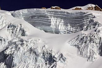 Huayna Potosí - Glaciers
