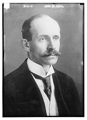 Hugh Cecil, 1st Baron Quickswood - Lord Hugh Cecil, circa 1914