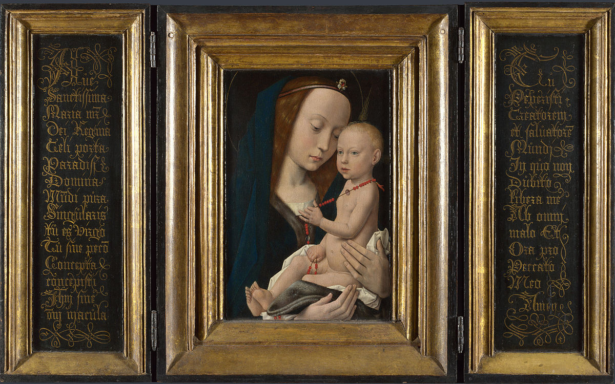 Exploring the subject matter of madonna and child