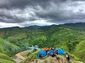 Ukhrul district - The landscape near Huishu, in Ukhrul district