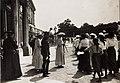 Huldigung der Katholischen Frauenorganisation für Niederösterreich vor Kaiser Karl I. und Kaiserin Zita in Schönbrunn am 17. Juni 1917 (BildID 15565920).jpg