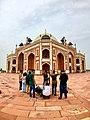 Humayun's Tomb Fisheye.jpg