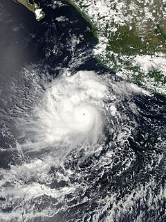Hurricane Javier (2004) Category 4 Eastern Pacific hurricane in 2004
