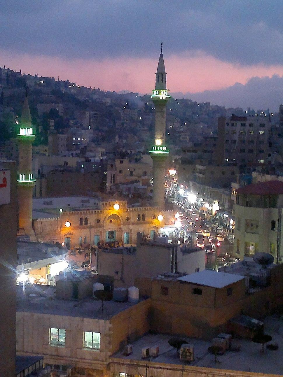 Husseini Mosque Down Town Amman