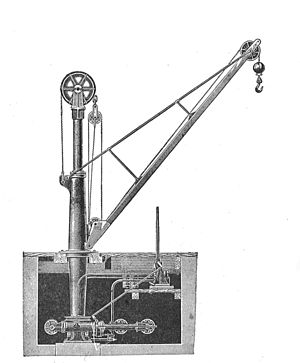 Andrew Betts Brown - Diagram of a Hydraulic Crane
