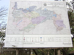 Anamalai Tiger Reserve - Map