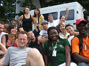 Esperantist - Esperanto speakers at the 2008 International Youth Congress of Esperanto