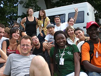 Esperantist - Esperanto speakers at the 2008 International Youth Congress of Esperanto