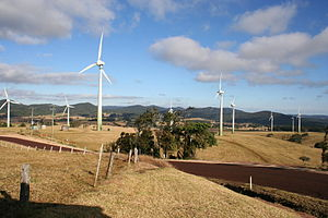 Renewable energy in Australia - Windy Hill Wind Farm, Atherton Tablelands, Queensland