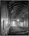 INTERIOR, LOOKING EAST FROM SIDE - St. Paul's Episcopal Church, 120 East J Street, Benicia, Solano County, CA HABS CAL,48-BENI,15A-4.tif