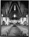 INTERIOR LOOKING EAST - Saint James Episcopal Church, 208 North Fourth Street, Baton Rouge, East Baton Rouge Parish, LA HABS LA,17-BATRO,10-11.tif