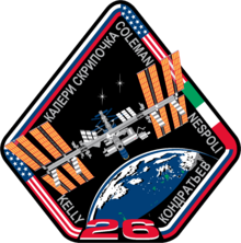 Description de l'image ISS Expedition 26 Patch.png.