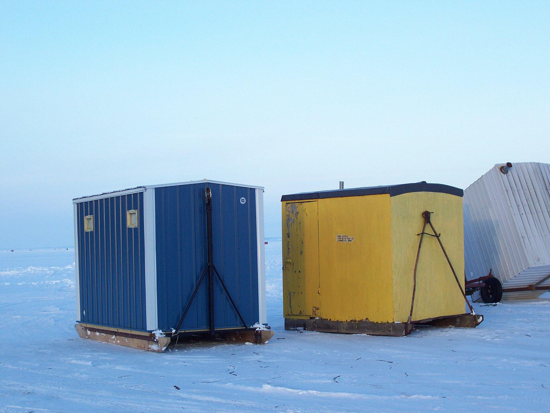Ice Fishing Shanty Building Plans