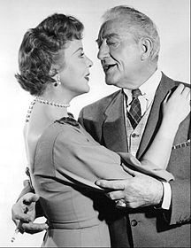Ida Lupino Francis X.Bushman Mr. Adams and Eve 1957.JPG