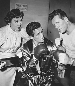 Mr. Adams and Eve - Ida Lupino, Morris Miller and Howard Duff in a 1957 episode