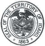 Idaho Territory Seal (1863-1866)
