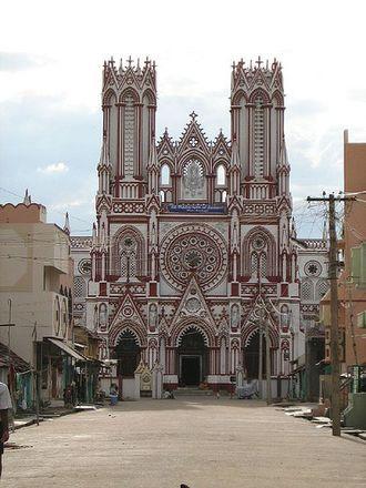Manamadurai - Idaikattur Church front view