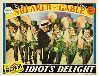 Idiot's Delight (film) - Lobby card