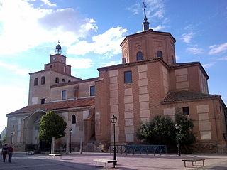 Nava de la Asunción Place in Castile and León, Spain
