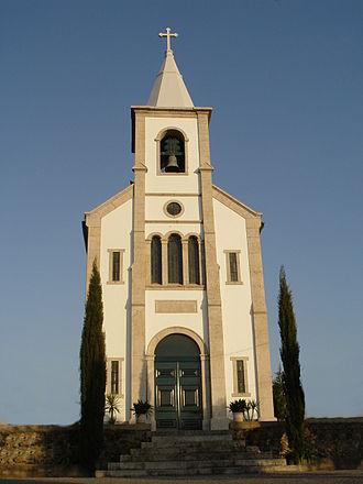 Merelim (São Paio), Panoias e Parada de Tibães - Image: Igreja de Parada de Tibaes
